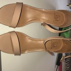 Material Girl Nude Shoes